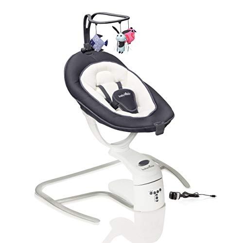 Imagen de Sillas Mecedoras Eléctrica Para Bebés Babymoov por menos de 200 euros.