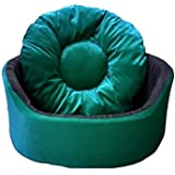 PetsMaker Deluxe Pet Bed For Dogs And Cats Velvet Ultra-Soft Plush Solid Pet Sleepeer -Small