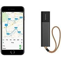 Tracker GPS abonnement Inclus - Localiser : Voiture, Moto, Sac, Enfant, Personne Âgée - Autonomie Longue Durée