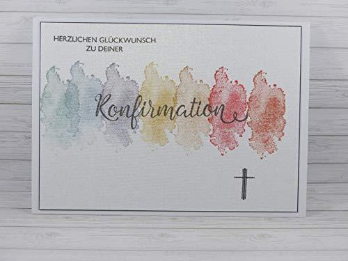 Handmade Konfirmationskarte
