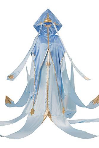 (Cardcaptor Sakura CCS Clear Card Arc Shinomoto Akiho D Magician Clan Kleid Cosplay Kostüm Damen XXL)