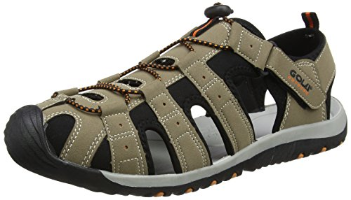 Gola Herren Shingle 3 Sandalen Trekking-& Wanderschuhe, Beige (Taupe/Black/Burnt Orange), 43 EU (9 UK)