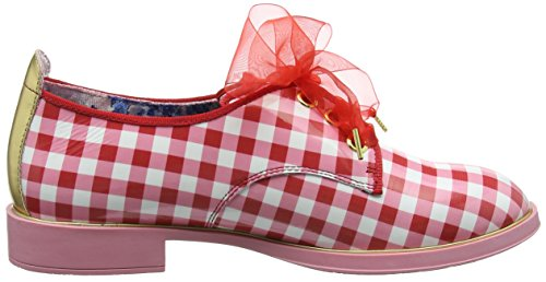 Day Irregular Derby Scarpe Red Dreamy Donna White Red Stringate Choice nnxZUfqaE