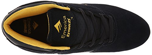 Emerica The Reynolds, Chaussures de skateboard homme Bleu (Navy/Yellow)