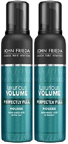 2unidades John Frieda Lujoso Volumen mousse cabello