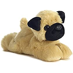 Aurora World Mini Flopsies Mr Pugster Pug de peluche