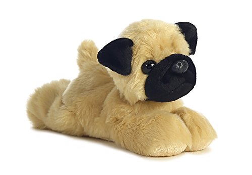 Aurora World 8-Inch Mini Flopsies Mr Pugster Pug Plush