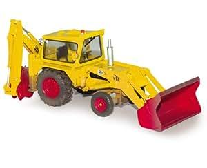 Corgi - CC15101 - Camion en Métal - JCB 3C - standard JCB livery - weathered - échelle 1:50
