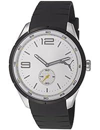 Puma Speed PU103111003 - Reloj analógico de cuarzo para hombre, correa de resina color negro
