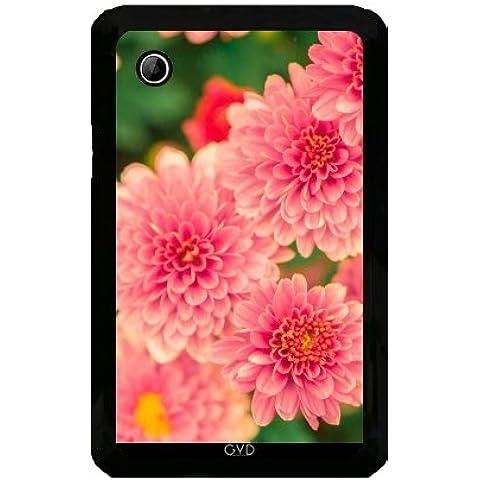 Funda para Samsung Galaxy Tab 2 P3100 - Dalias Rosadas Flores Floral by Petra