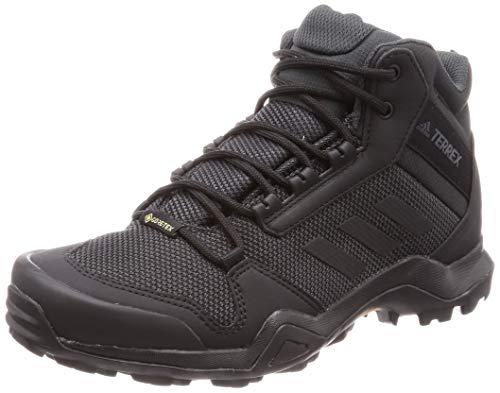 Adidas Terrex AX3 Mid GTX, Zapatillas de Deporte para Hombre, Negro Negbás/Negbás/Carbon 000, 48...