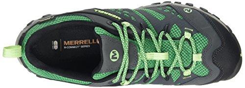 Merrell J327, Chaussures de Randonnée Basses Femme Multicolore (Multicolor/Bright Green)