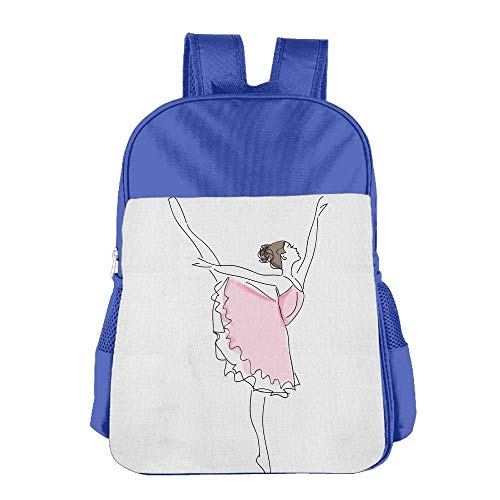 Dancing Girl Children School Backpack Carry Bag for Kids Boys Girl