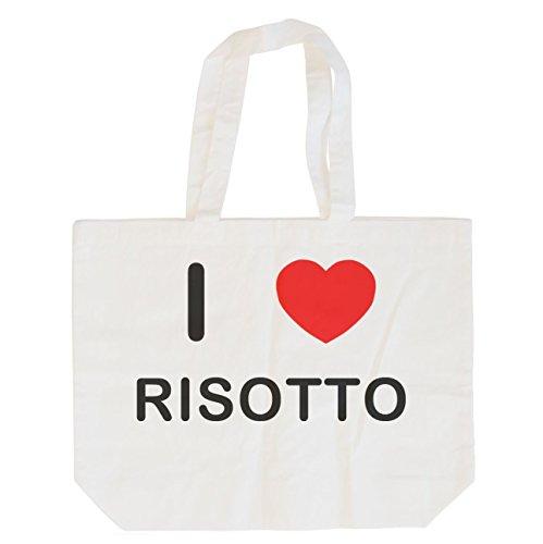 I Love Risotto - Cotton Maxi Shopping Bag