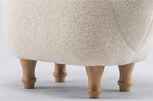 Jcrnjsb divano sgabello in legno massello creatività sgabello