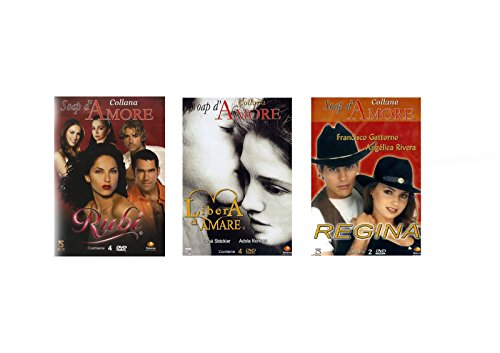 offerta-3-dvd-soap-damore-telenovela-rubi-barbara-mori-eduardo-santamaria-yadira-carillo-regina-ange