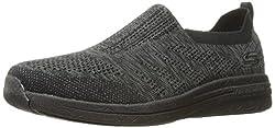 Skechers Sport Mens Burst 2. 0 Haviture Slip-on Loafer, Black, 12 M US