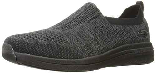 Skechers Burst 2.0 Haviture Hommes Toile Baskets Black