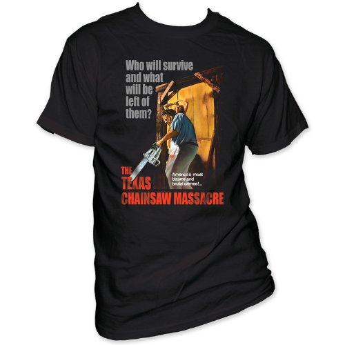 Texas Chainsaw Massacre - - Bizarre & brutalen Verbrechen! Men's T-Shirt in schwarz, Medium, Black