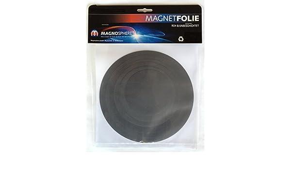 /Ø 100 mm Epaisseur 0,7 mm Diam/ètre:/Ø 140mm 200 mm 10 x Disque magn/étique flexible adh/ésif