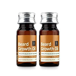 Ustraa Beard Growth Oil (35 ml) -Set of 2