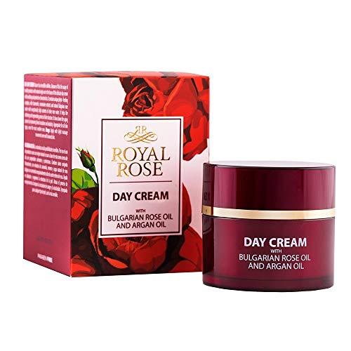 BioFresh Royal Rose Crème de jour à l'huile d'argan, huile de rose, romarin et Jojoba / Day Cream with Rose Oil, Argan Oil, Rosemarinus Extract, Panthenol and Jojoba oil - 50ml