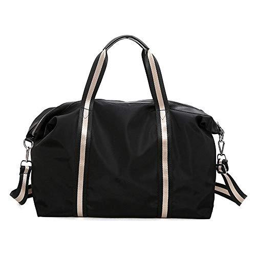 Grtodnz Große Kapazität Männer und Frauen Sport Sporttasche Reisetasche Cross Body Handtaschen, geeignet für das Wochenende und Kurze Reisen, kann viele Notwendigkeiten halten -