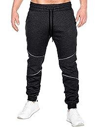 MODCHOK Homme Pantalon Jogging Sarouel Survêtement Sweat Pants Sport Casual  Formation 9ad80ceb1289