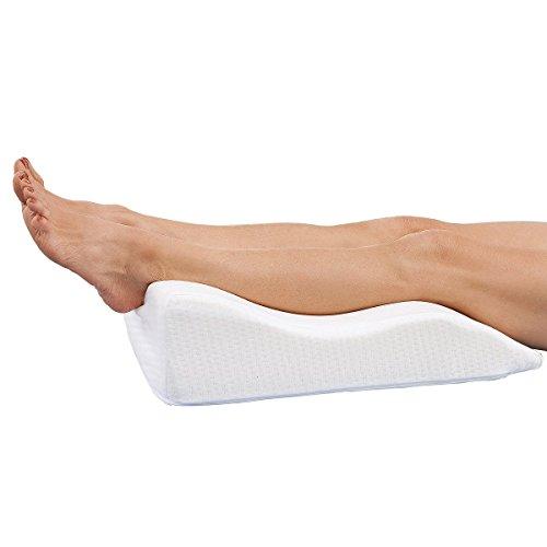 Unbekannt Beinruhekissen, kurz, Venenkissen, Beinhochlagerungskissen, müde Beine, Venenleiden, Durchblutungsstörungen, 55 x 41 x 16cm