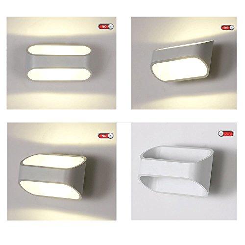 Lightess lampada da parete a led 5w stile moderno applique - Lampade a parete per bagno ...