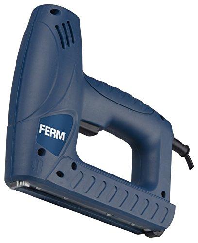 FERM Combi Agrafeuse électrique - Incl. 400 Pinces et 100 Clous