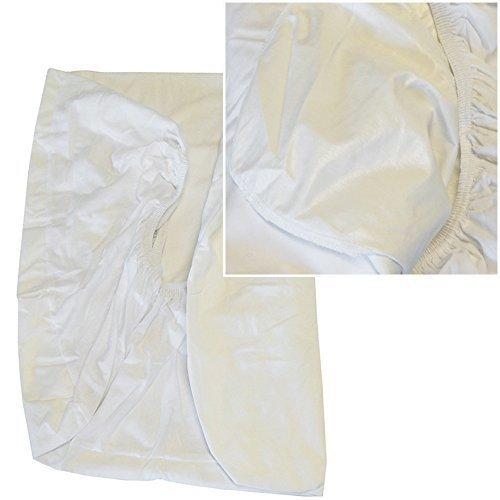 Coprimaterasso-lettino-con-sponde-IMPERMEABILE-Traspirante-bimbo-65x125