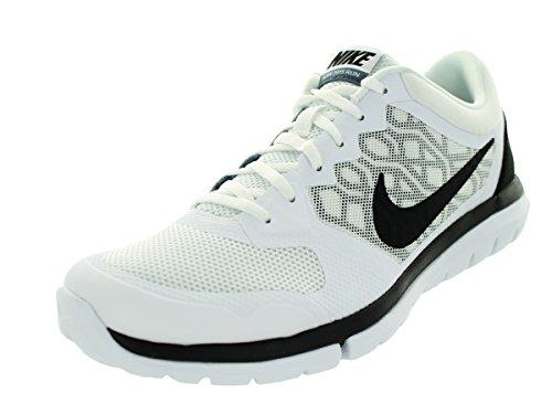 Nike Flex Run 2015, Chaussures de Running Compétition Homme Weiß