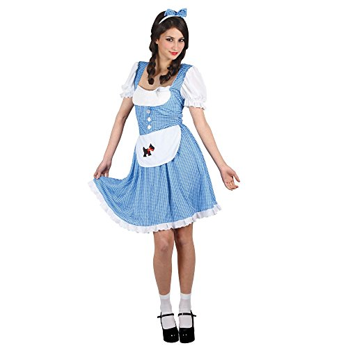 Dorothy Country Girl - Adult Ladies Costume Lady: XXL (UK:26-28)