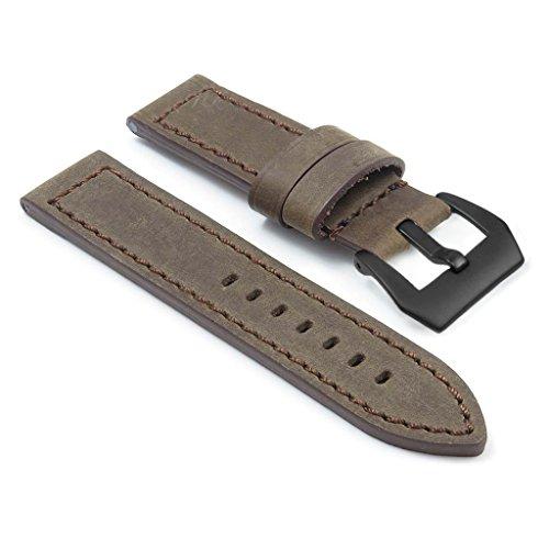 dassari-bentley-marron-bande-de-montre-en-cuir-vintage-pour-panerai-marque-w-noir-mat-pre-v-boucle