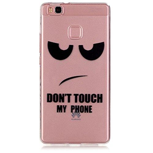Pour Apple iPhone 5 5S 5SE Coque,Ecoway Housse étui en TPU Silicone Shell Housse Coque étui Case Cover Cuir Etui Housse de Protection Coque Étui
