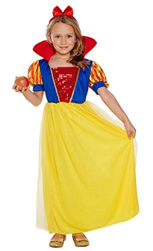 Mädchen Schnee weiß Kostüm Fairy Princess Buch Woche ()
