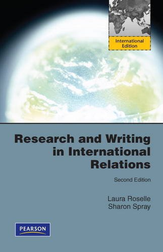 Research and Writing in International Relations: International Edition