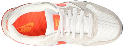 Nike Wmns Md Runner 2, Scarpe da Ginnastica Donna Multicolore (White/Total Crimson/Laser Orange/Phantom)