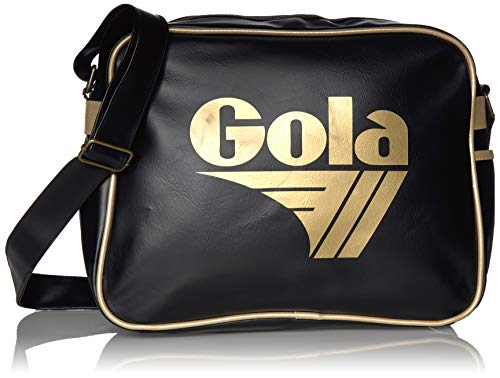 Gola Redford - Borse Messenger Unisex Adulto, Nero (Black/Gold)