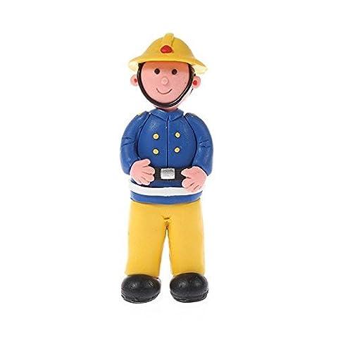 Feuerwehrmann Abbildung Lehm nicht essbare Kuchen Figur