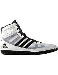 size 40 663d5 ec01e adidas - Zapatillas de Lucha Libre de Lona para Hombre Blanco Blanco