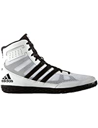 size 40 3d8bf 5d65b adidas - Zapatillas de Lucha Libre de Lona para Hombre Blanco Blanco