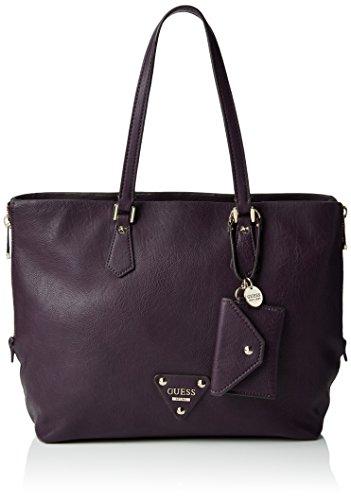 Guess Damen Handtasche, Aubergine