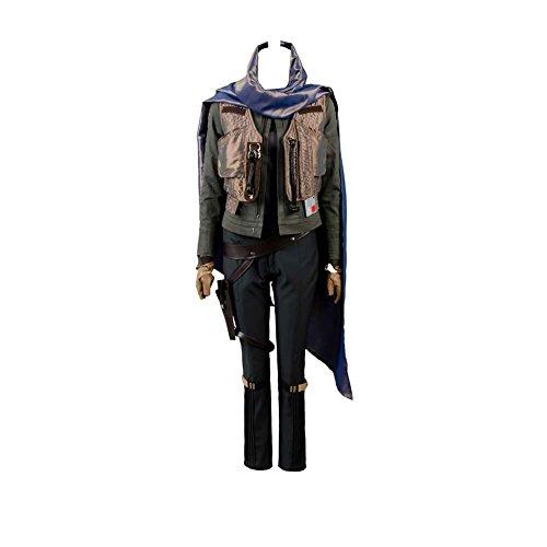 Rogue One: A Star Wars Story Jyn Erso Stardust Outfit Cosplay Kostüm Damen L (Cosplay Rogue Kostüm)