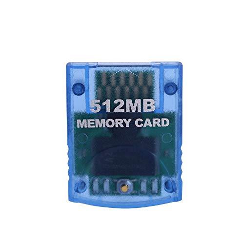 Zerone 512MB Gamecube Speicherkarte, High Speed Gaming Speicherkarte für Nintendo Wii NGC Gamecube Konsole(512MB)