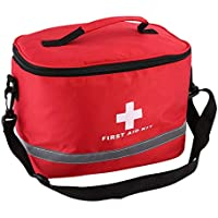 Preisvergleich für Jacobssen Rotes Nylon-auffallendes Kreuz-Symbol High-Density-Ripstop-Sport-kampierendes Hauptmedizinisches Notüberlebens-Erste-Hilfe-Ausrüstungstasche...