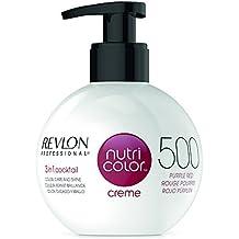 Revlon Nutri Color Creme 500 Tinte para el Cabello, Rojo Púrpura ...