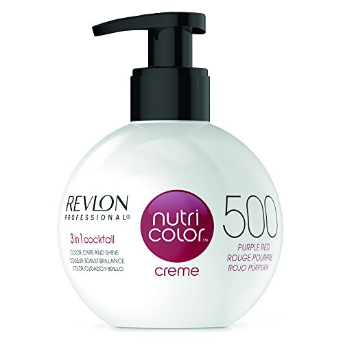 Revlon Nutri Color Creme #500-Purple Red 270 Ml 270 ml