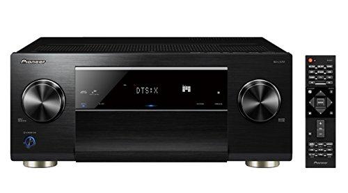 Pioneer 9.2 AV Receiver, SC-LX701, 185 Watt/Kanal, Class-D-Verstärker, 4K UltraHD Durchleitung, Dolby Atmos, DTS:X, WLAN, Bluetooth, Hi-Res Streaming, Musik Apps, Internet Radio, Multiroom, Schwarz (Av-receiver Class-d)